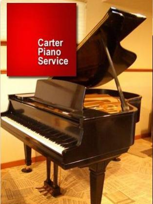 Carter Piano Services, Eugene OR Logo